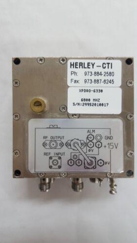 Herley CTI_XPDRO 6330: Phase locked oscillator 6800MHz
