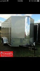 Royal Enclosed Cargo Trailer