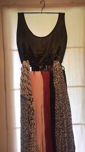 boho skirt scarf holder