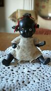 Bisque Black Doll Japan