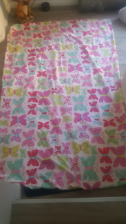 Butterfly Girls Quilt Cover and pillow set