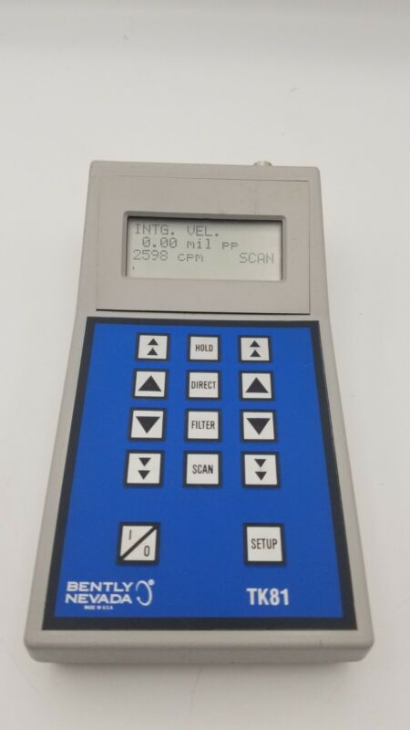 Bently Nevada TK81 Tunable Filter-Vibration Meter UNIT ONLY