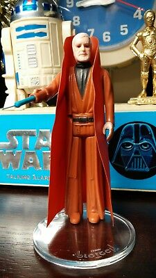 Star Wars Replacement OBI-WAN KENOBI Vinyl Cape for Vintage 1977 Figure - Repro