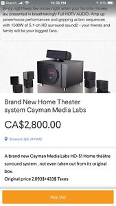 Brand New Home Theater System