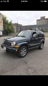 2007 Jeep Liberty Limited 4X4 Good Condition No Parking