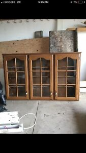 Display Cabinet- Solid Wood