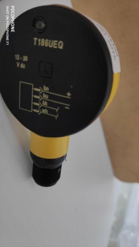 Banner T186UE Ultrasonic Sensor 12-30VDC