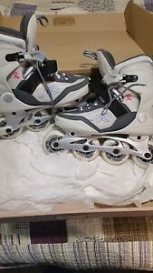 K2 Women's Rollerblades  ( supporting breast cancer )