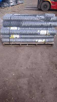 Brand New - Wire Netting Chicken Rabbit Wire Mesh 1500mm x 50mm x 19g x 50mtr