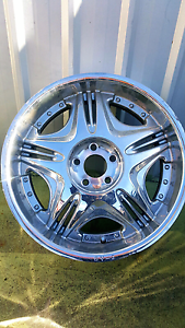 "20"" chrome rims 5 stud and 6 stud Kenwick Gosnells Area Preview"