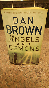 Angels and demons Dan brown book Oxenford Gold Coast North Preview