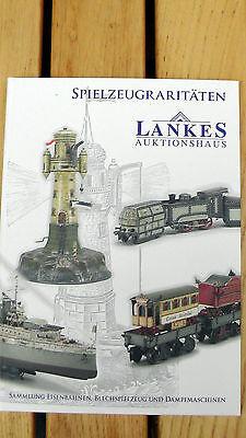 Auktionskatalog über Eisenbahnen, Dampfmaschinen und Blechspielzeug
