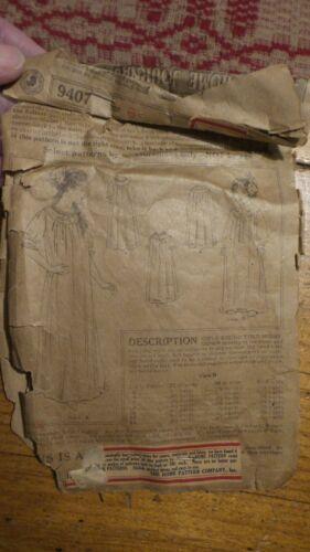 Antique Sewing Pattern LADIES