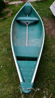 CANOE 14FT CANDIAN PLASTIC AUSTRALIAN MADE 2 PADDLES  Seven Hills Blacktown Area Preview