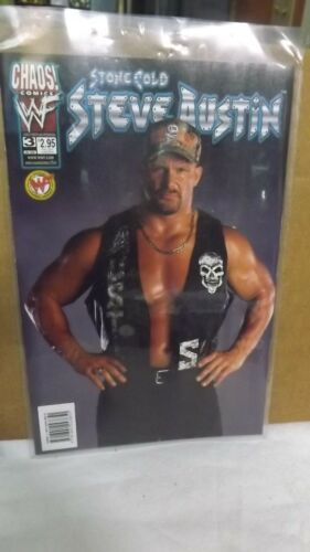 Chaos! Comics WWF Stone Cold Steve Austin #3 Comic WWF Official Licensed Product