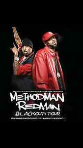 Vip methodman and redman blackout tour $100 Morayfield Caboolture Area Preview
