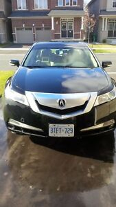 2010 Acura TL Black Leather & Sunroof 4 Door Sedan
