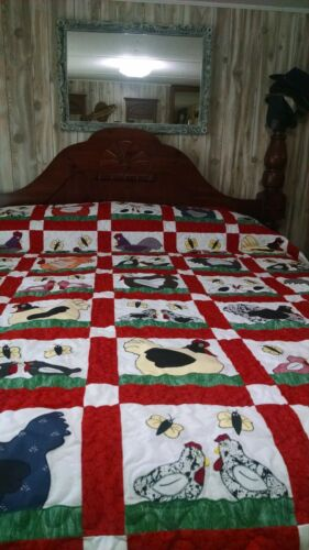 Country Chicken quilt