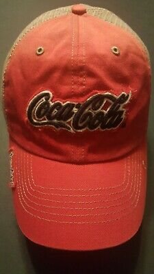 HAT Coca-Cola Have A Coke! Red Mesh Adjustable Trucker Baseball Cap