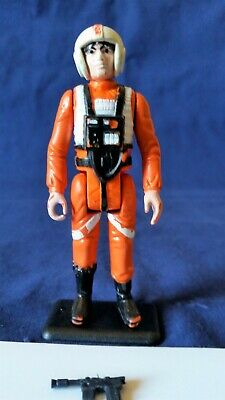 STAR WARS vintage - PBP - LUKE SKYWALKER  x-wing pilot+ original blaster..COO# 6