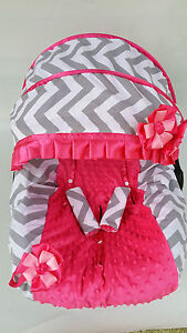 Girl Infant Car Seat Canopy