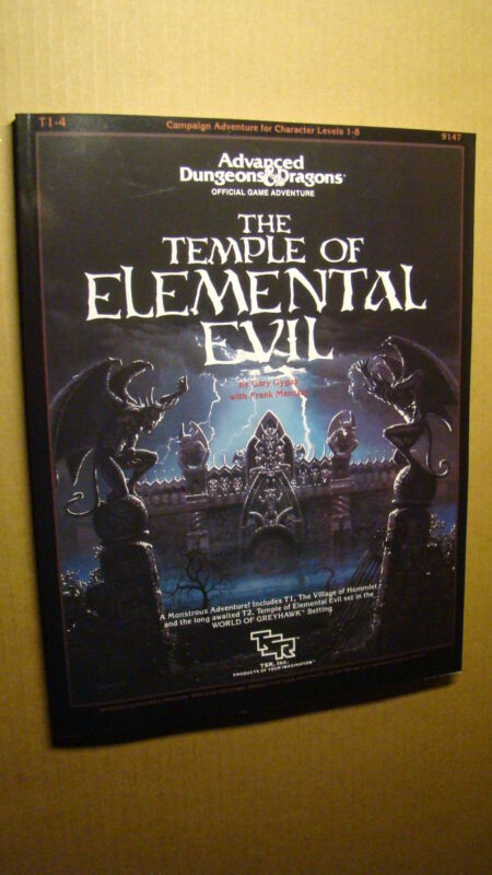 SUPER MODULE T1-4 - TEMPLE OF ELEMENTAL EVIL *NEW MINT NEW* DUNGEONS DRAGONS