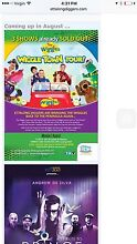 Wanted wiggles tickets Woy Woy Gosford Area Preview