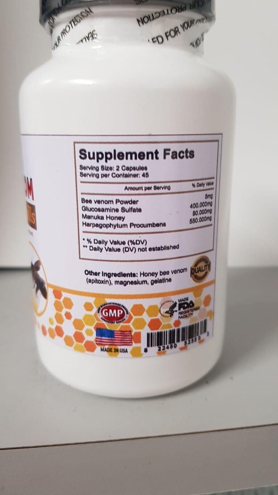 B-VENOM anti-inflamatory Arthritis Pain abeemed bio bee therapy CREAM  6