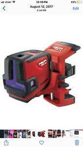 PMC 46 self levelling combilaser level Hilti tool