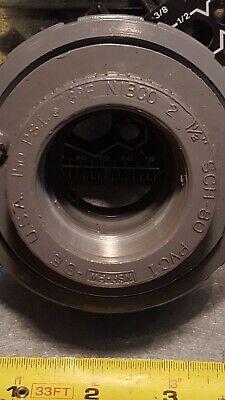 Nibco2 1-12 Pvc-i Sch 80 Thread X Thread Union O Ring Fitting Usa