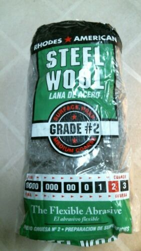 Rhodes American  21112 Steel Wool Grade #2, FREE SHIPPING