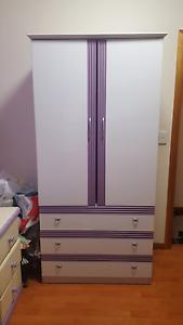 Purple and White Wardrobe Cabramatta West Fairfield Area Preview