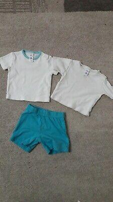 Und 1 Jungen Shorts (2 Tshirts und 1 Shorts Gr 62/68)