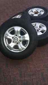 Holden rodeo ROH alloy wheels Canning Vale Canning Area Preview