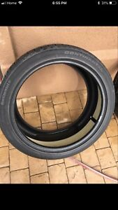 275/40/22 CONTINENTAL cross contact LX all seasons tire