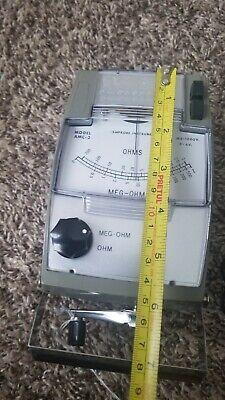 Amprobe Amc-3 Hand-cranked Insulation Tester 500 Megaohms 1000 Volt