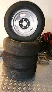 Set of 4 early  holden 13 inch mag wheels torana Caboolture South Caboolture Area Preview