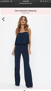 Missguided Tall Jumpsuit Size 8