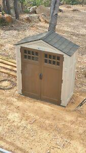 Suncast USA Built Resin/Polymer Garden Shed 6x3 Bullsbrook Swan Area Preview