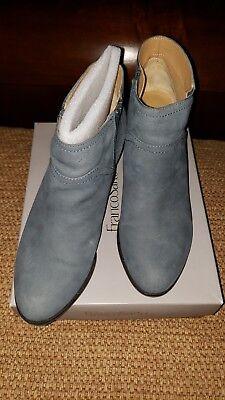 Womens Franco Sarto Domino Jeans Boot Sz 9.5