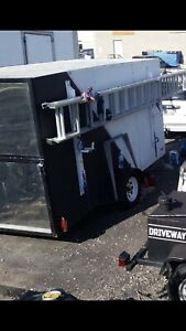 6' x 10' enclosed cargo utility trailer for sale