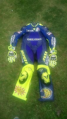 Dainese Valentino Rossi Leathers and Gloves - Very Rare