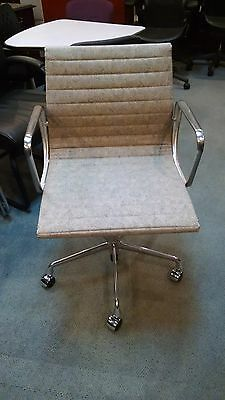 11 New Herman Miller Eames Aluminum Group Swivel Chairs