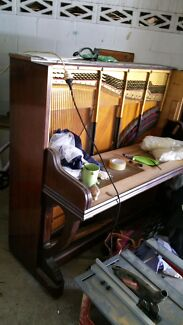 Partially dismantled old upright piano  Upper Mount Gravatt Brisbane South East Preview