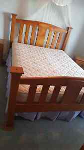 Queen size wooden bed (comes with the mattress) Elizabeth South Playford Area Preview
