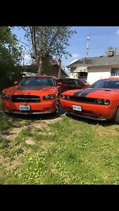 His And Hers Charger And Challenger