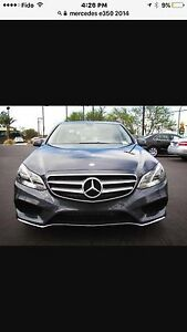 Mercedes e350 2014 4MATIC panoramic roof