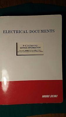 Mori Seiki Sl-150mc Electrical Documents Manual