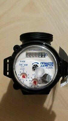 New Master Meter 34 Fam Poly Series Nsf-61 Water Meter Free Bonus