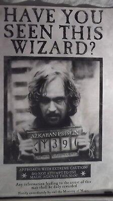 vintage official Harry Potter poster 61cm x 91cm